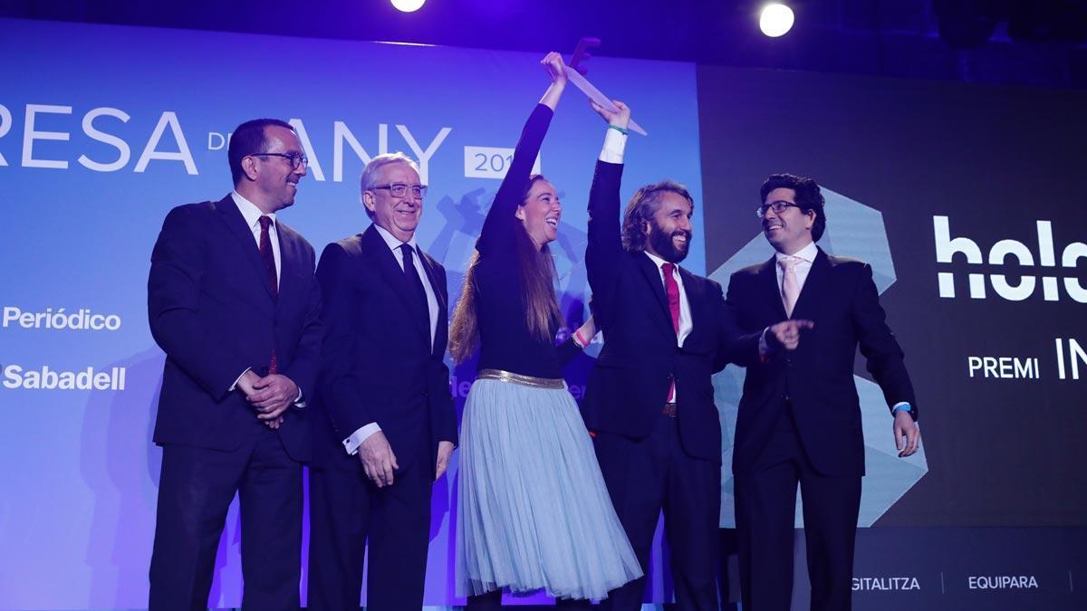 Los mejores momentos de la ceremonia de los Premios Empresa del Año 2018, de EL PERIÓDICO DE CATALUNYA