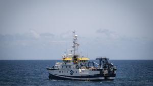 El buque oceanográfico 'Ángeles Alvariño'.