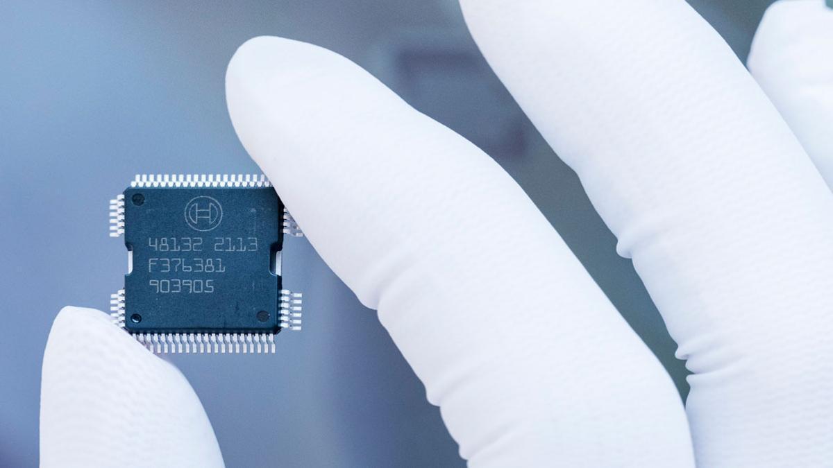 Microchip automoción Bosch.