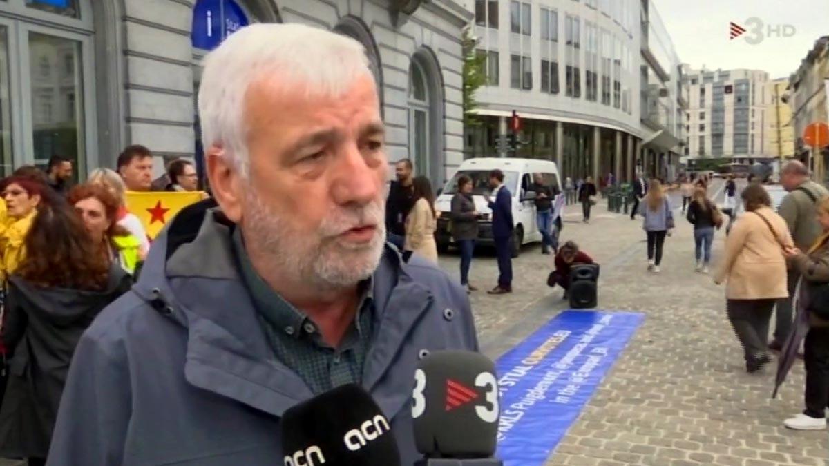 Matamala ha llegado a Bruselas ('TN', TV-3).