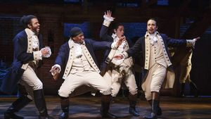 'Hamilton' es un musical histórico que transcurre a ritmo de hip hop.