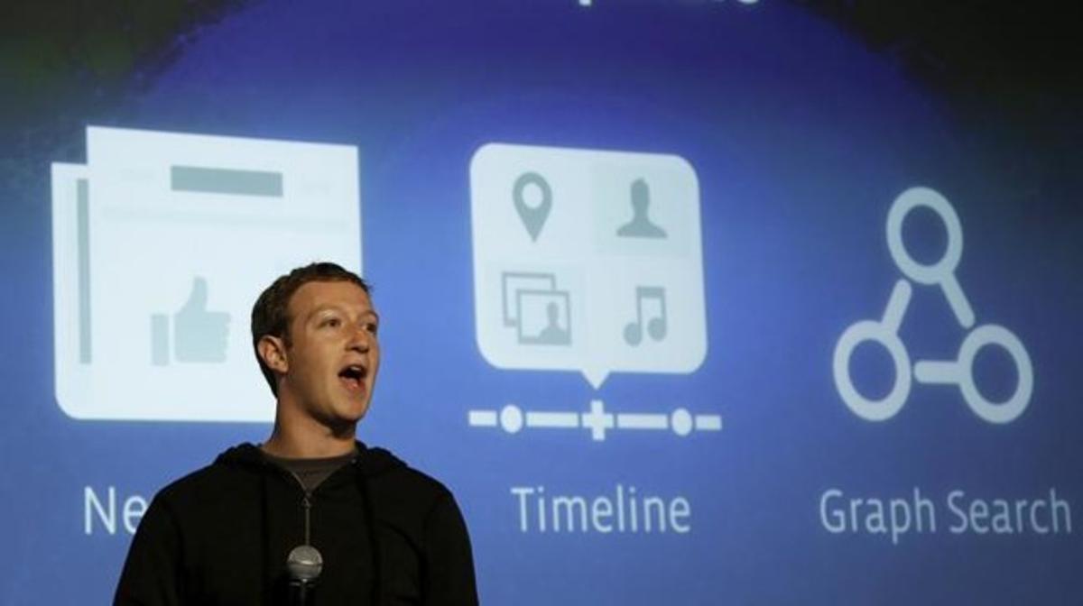 Mark Zuckerberg presenta Graph Search.