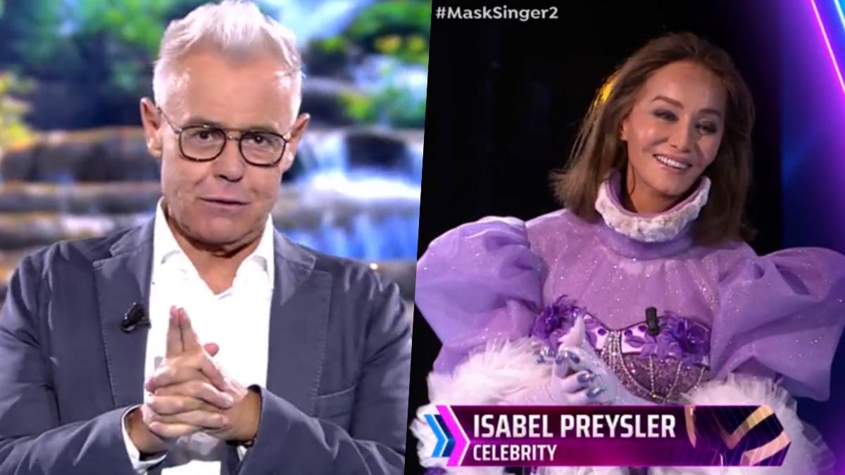 Jordi González en 'Supervivientes 2021: Conexión Honduras' e Isabel Preysler en 'Mask Singer'