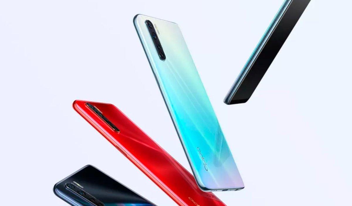 L''smartphone' A91 d'Oppo arriba al nostre mercat per 329 euros