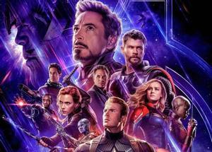 Póster oficial de la película 'Vengadores: Endgame'.