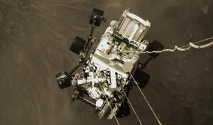 La NASA divulga el primer vídeo de l'arribada del rover 'Perseverance' a Mart