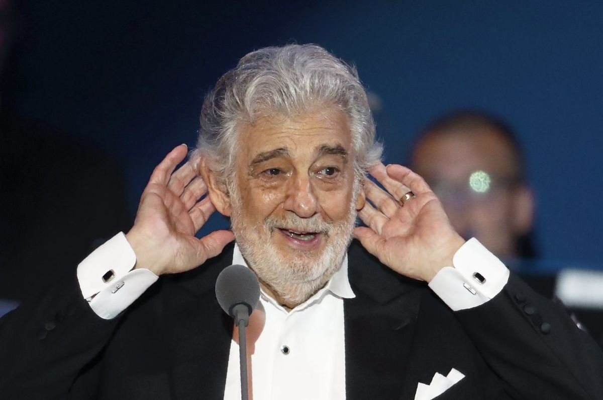 Cultura suspèn les actuacions de Plácido Domingo al teatre de la Zarzuela