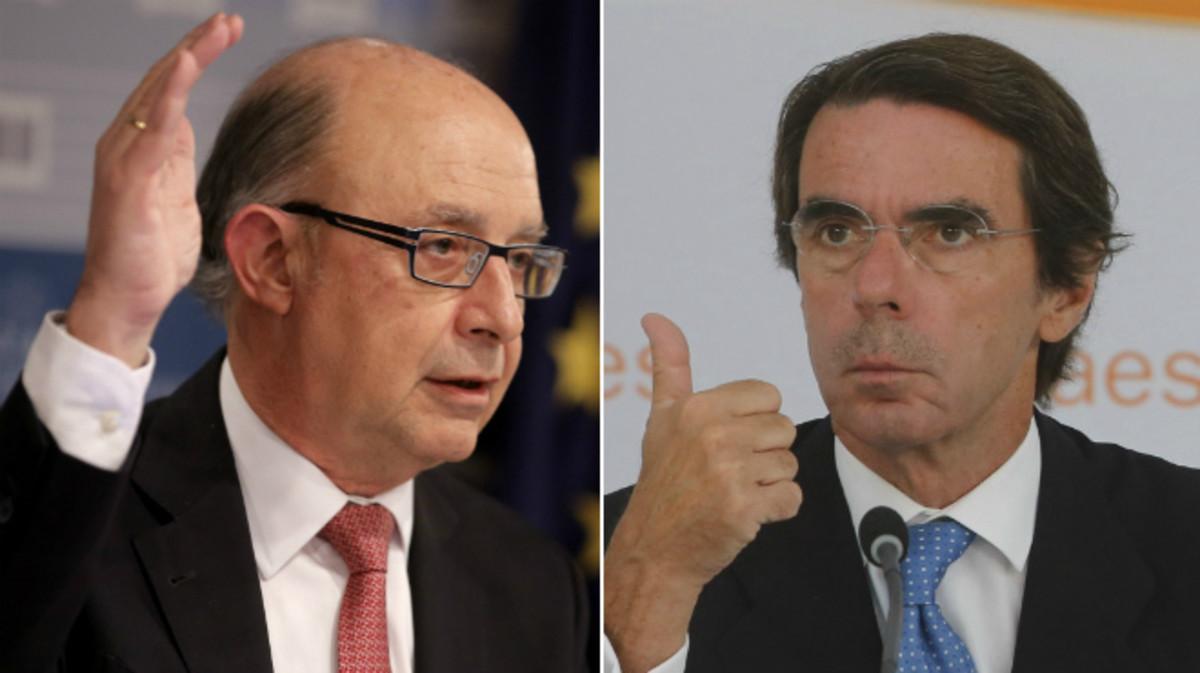 Montoro vs Aznar, zascas a porrillo