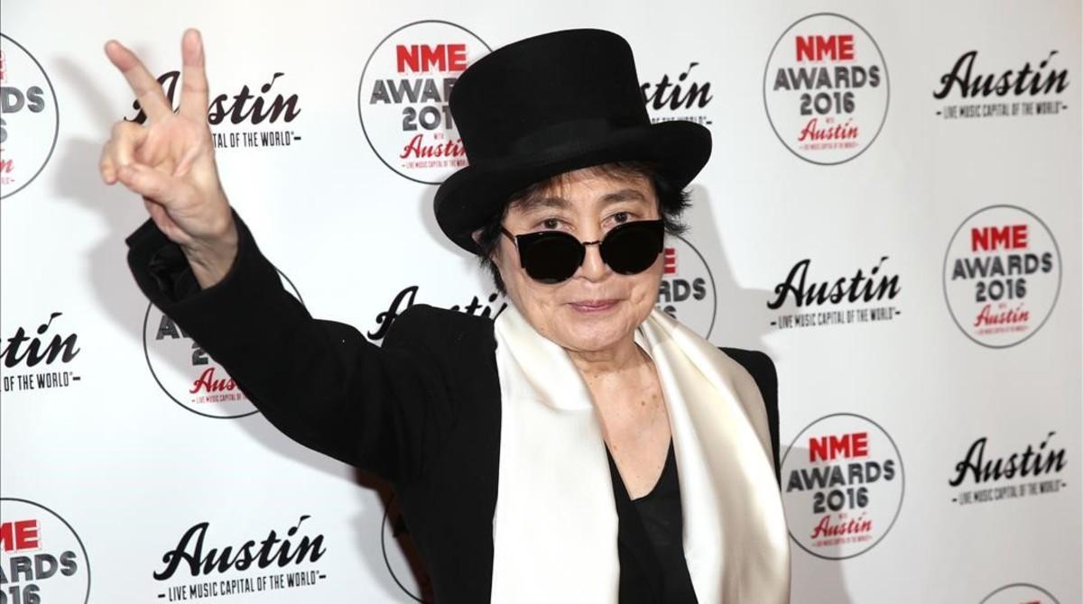 Imagen de archivo de Yoko Ono.