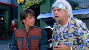 Fotograma de la película 'Regreso al futuro 2'.