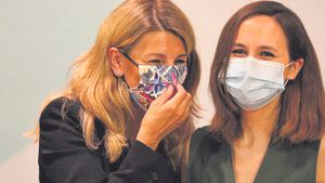 Díaz blinda Podem en el Govern i confia a esquivar Calviño