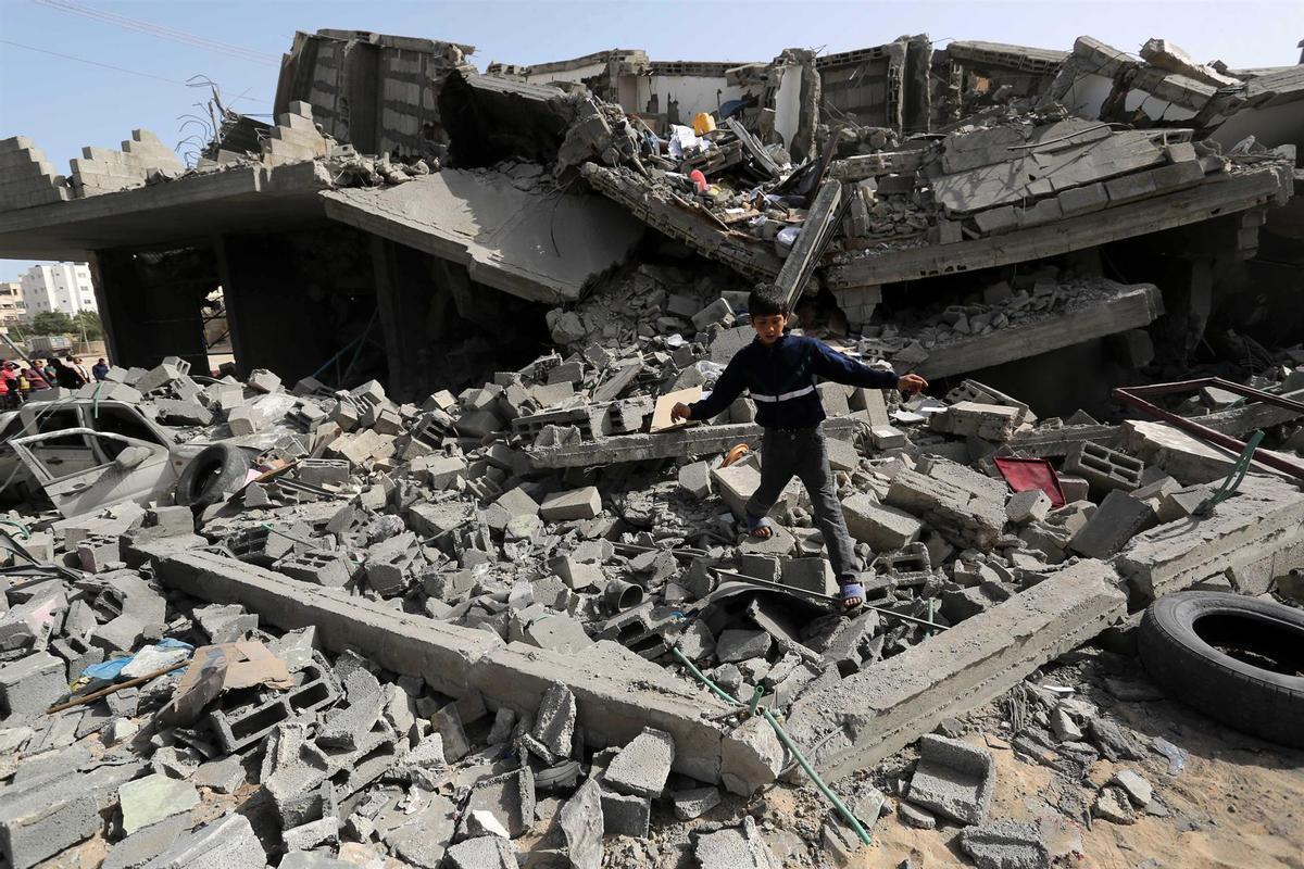 Israel torna a atacar la Franja de Gaza