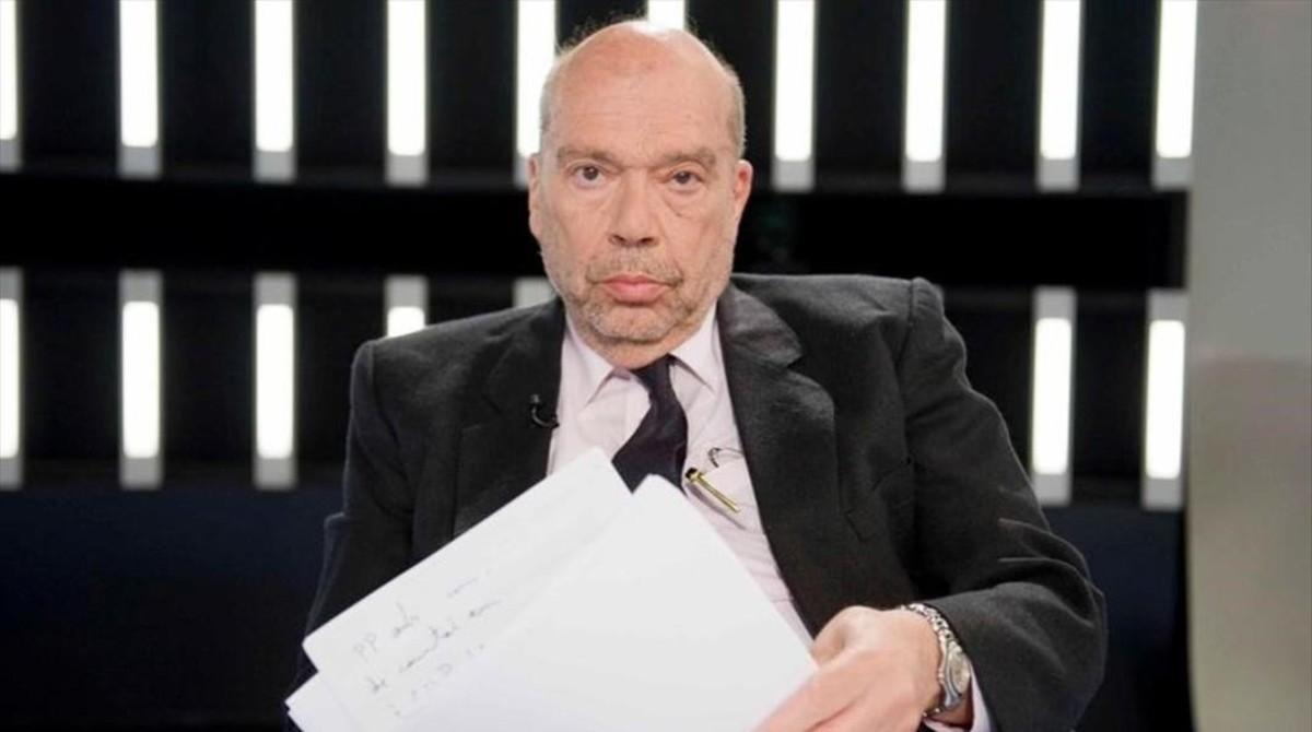 Alfons Quintà, en un programa de televisión.