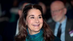 Melinda Gates, en una conferencia sobre salud en Oslo en el 2018.