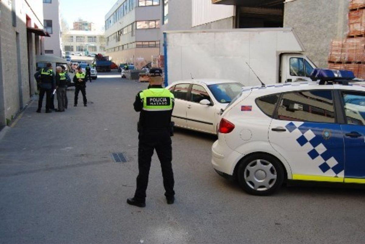 Policía local de Mataró