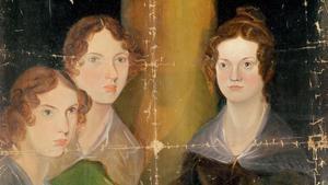 Las hermanas Brontë, pintadas por su hermano Branwell en 1834.