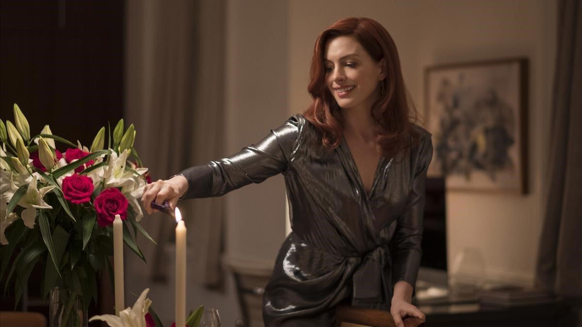 Anne Hathaway en una de las historias de 'Modern love'.