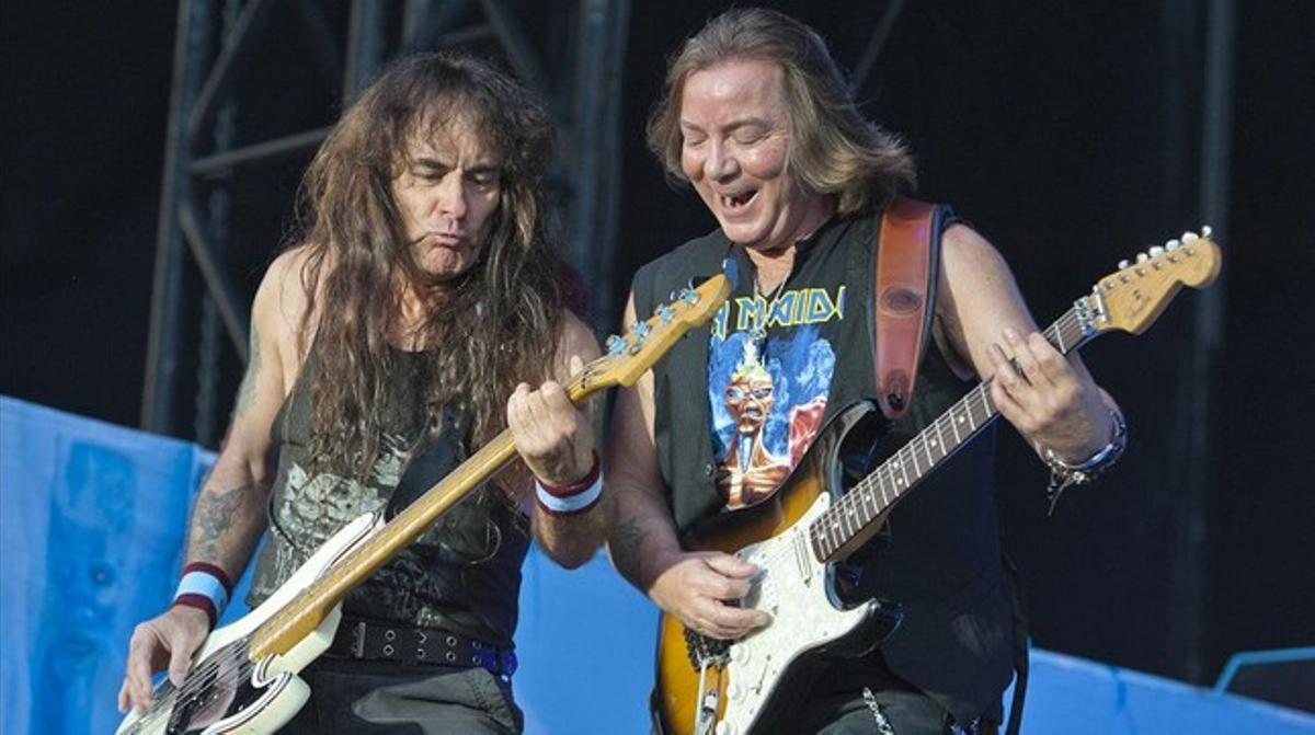Concierto del grupo britanico Iron Maidenen el Forum, en junio del 2013.