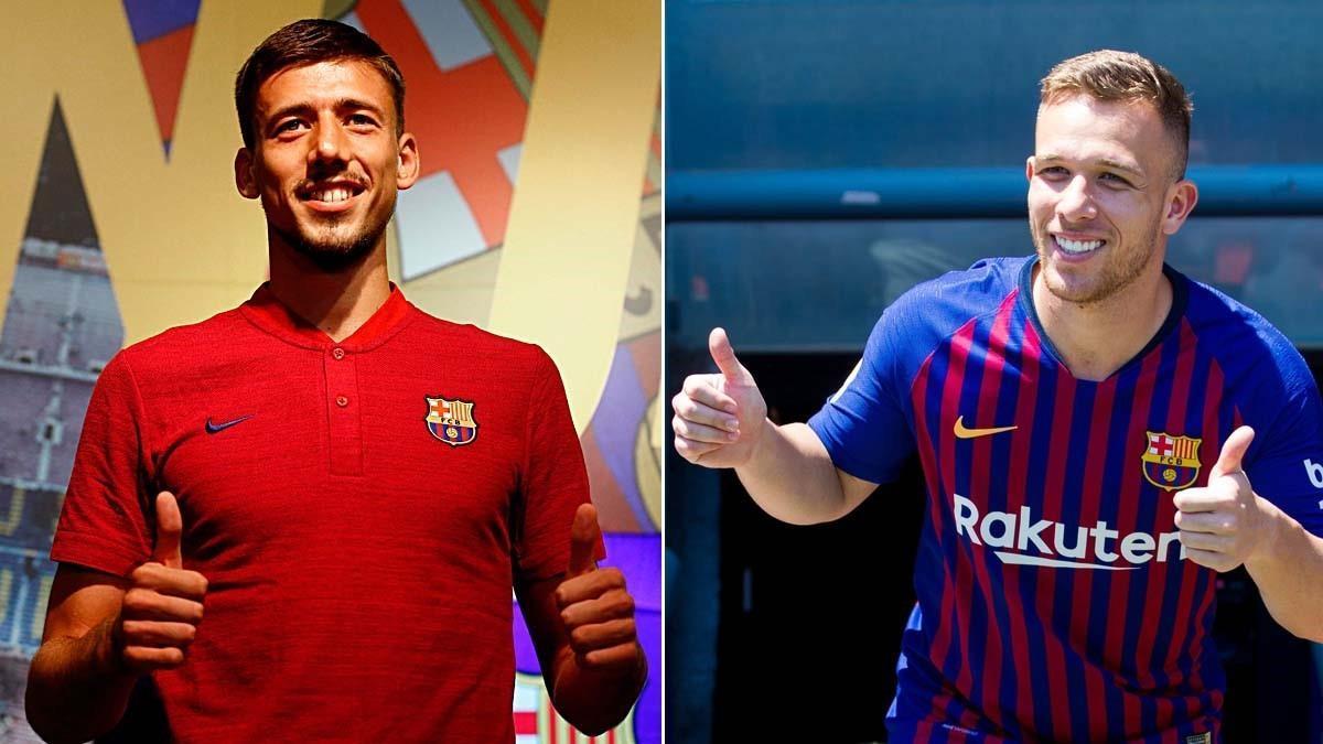Lenglet y Arthur, los dos primeros fichajes del Barça 18-19.