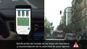 Barcelona llança una 'app' que avisa dels canvis del semàfor i de la proximitat dels bombers
