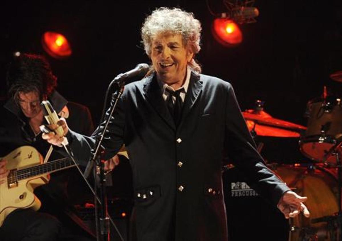 Dylan, durante una actuación en Los Ángeles en el 2012.