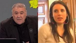 La reacción de Ferreras tras el vídeo de Montero en el que reconoce que fue menos gente al 8M por la COVID-19