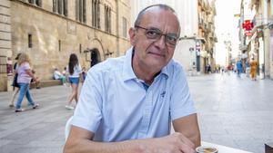 Miquel Pueyo, alcalde de Lleida, tras la entrevista