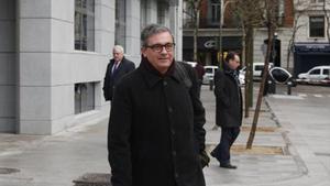 Jordi Pujol, el 11 de febrero del 2016, ante la Audiencia Nacional.