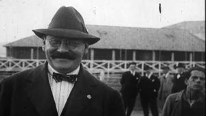 Imagen de archivo deJoan Gamper, fundador del FC Barcelona.