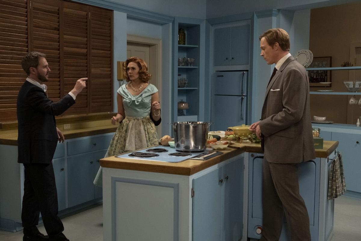 Matt Shakman dirige a Elizabeth Olsen y Paul Bettany en 'Bruja Escarlata y Visión'.