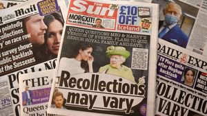 Portadas de varios tabloides británicos tras la entrevista.
