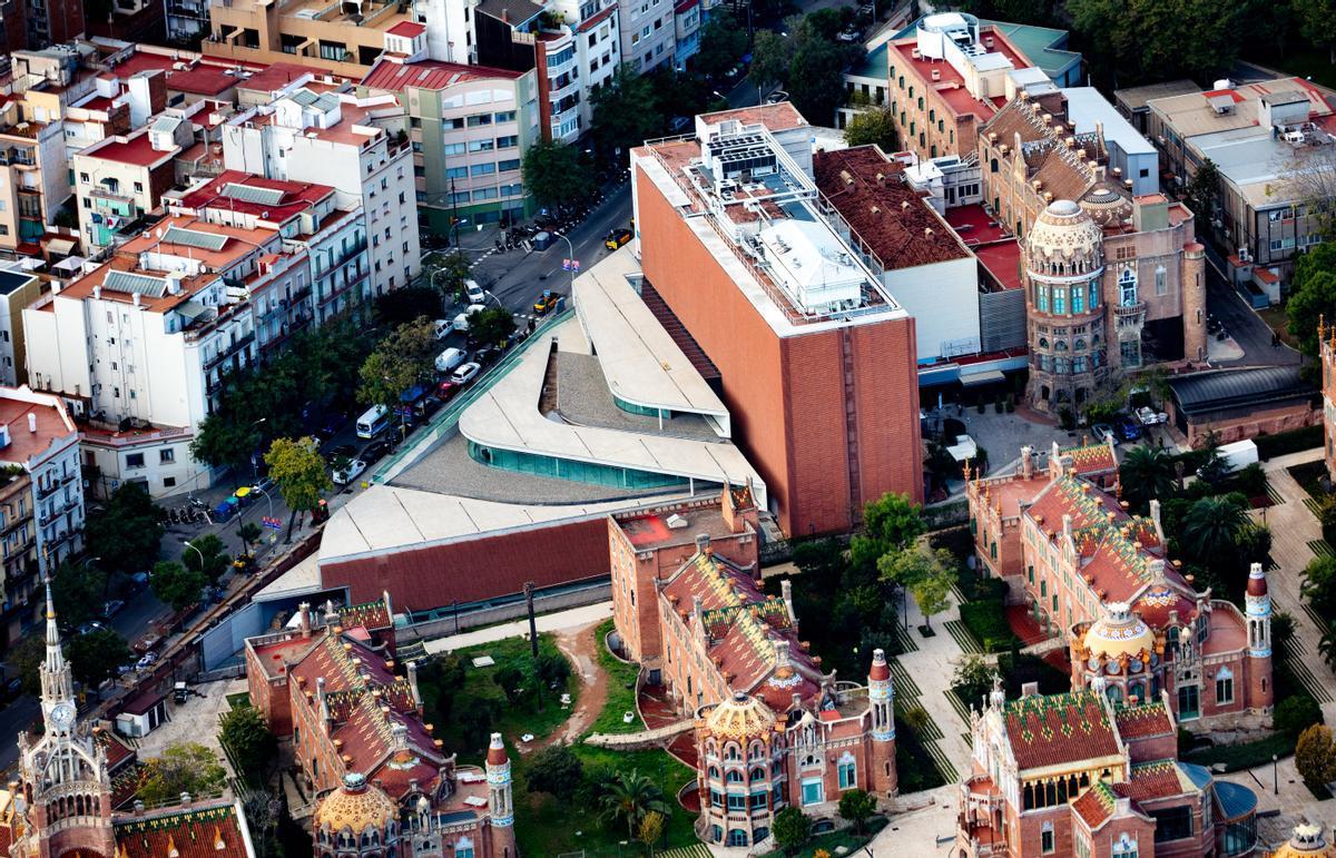 Vista aérea Sant Pau-Puigvert.