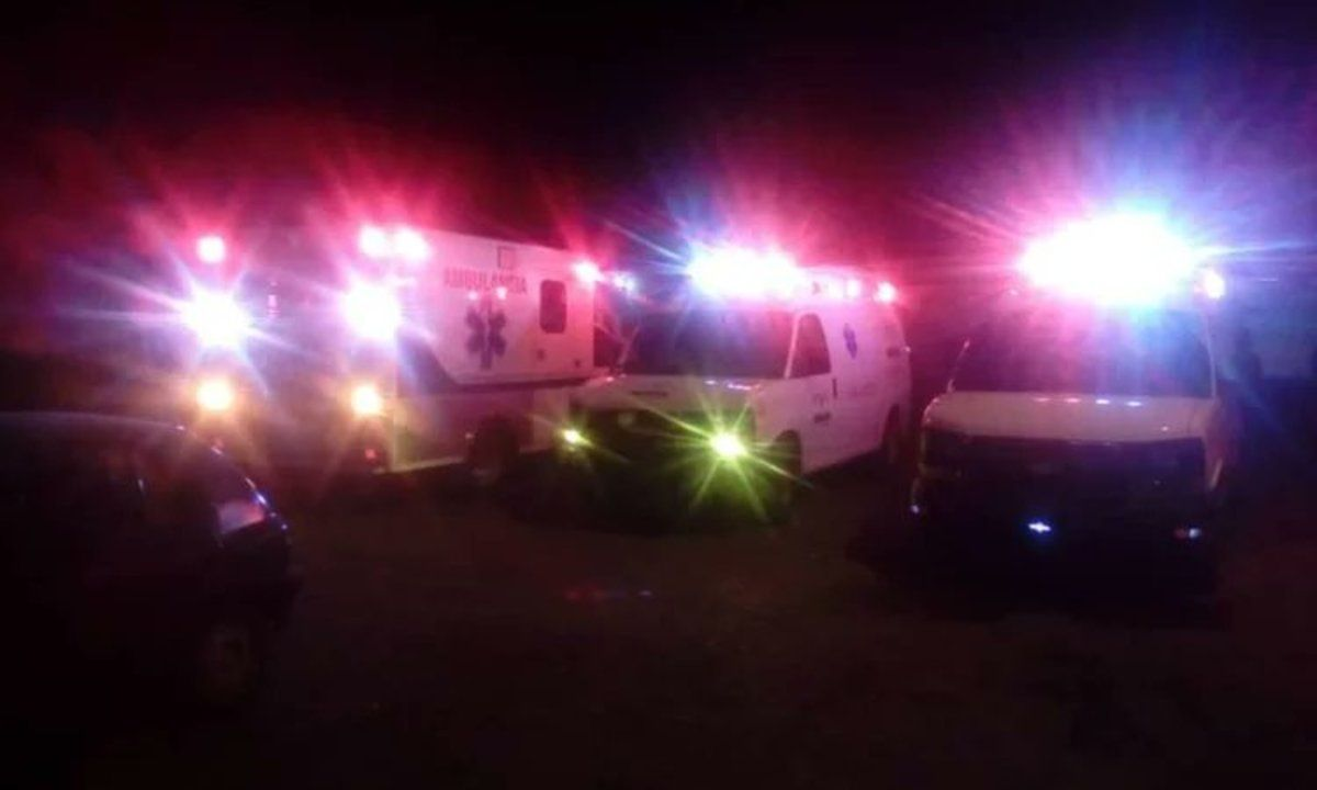 Los heridos fueron trasladados a distintos centros de atención de salud de la región.