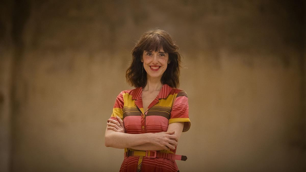 La escritora Irene Vallejo.