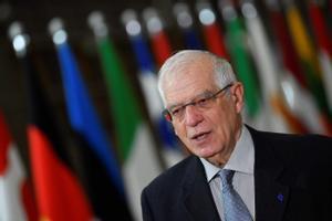 Josep Borrell el pasado 25 de enero en Bruselas.