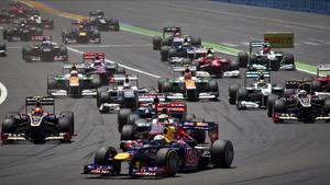 Imagen de un Gran Premio de F-1