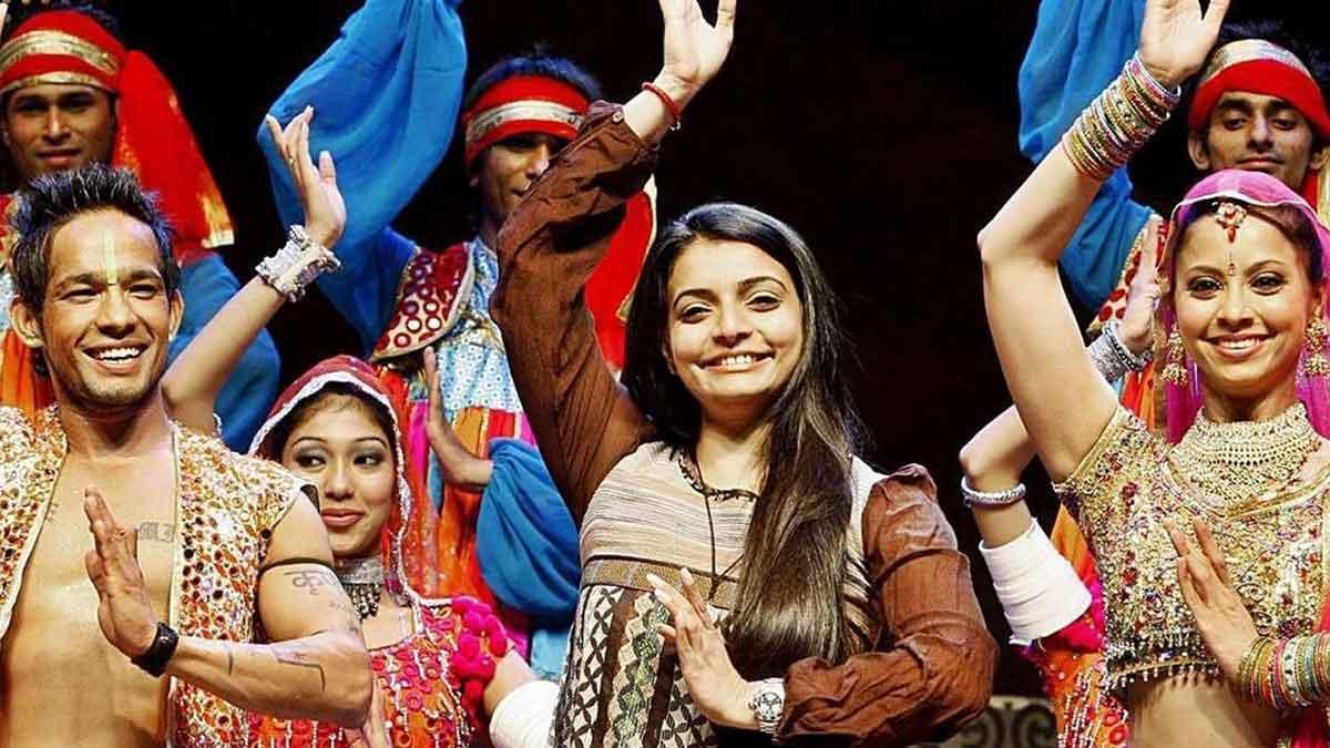 Un momento del musical 'Bollywood'.