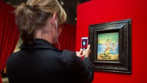 'Leda atómica', el óleo de Dalí que centra la exposición 'Dalí atómico' en el CaixaForum de Sevilla.
