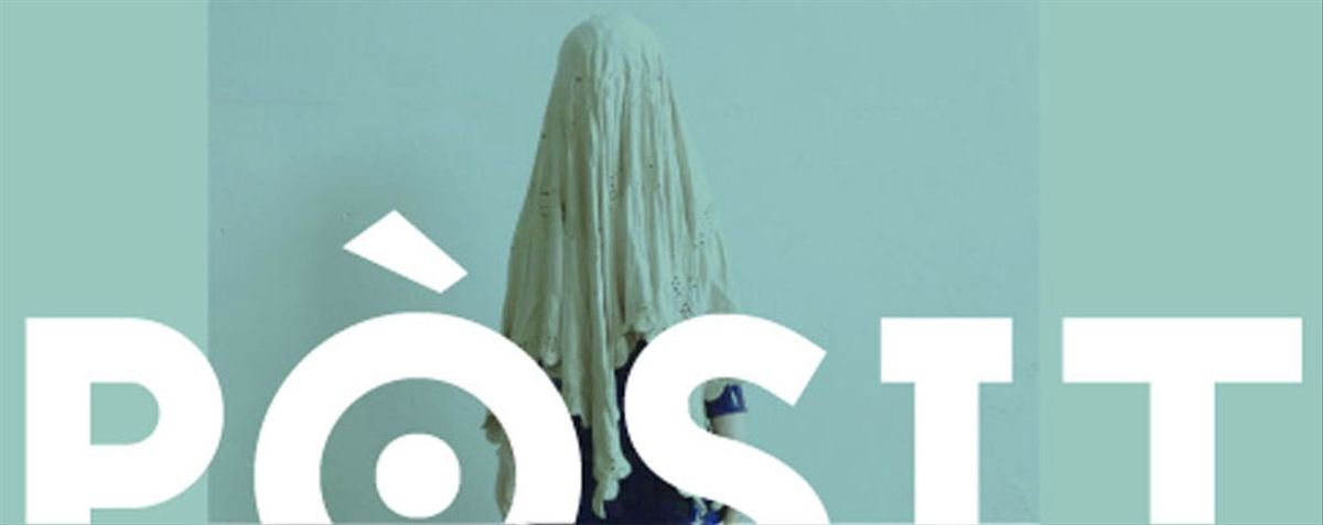 Cartel promocional de la exposición Pòsit de Esplugues