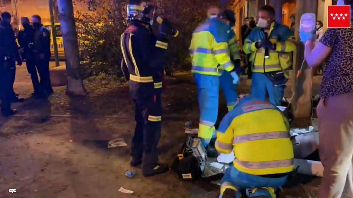 Muy grave una mujer en un incendio en una vivienda en Getafe (Madrid)
