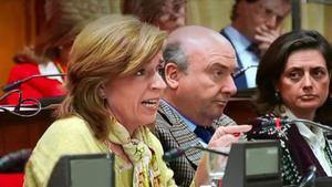 María Jesús Botella concejala del PP en Cordoba,afirma que la brecha salarial se debe a la baja formacion de las mujeres
