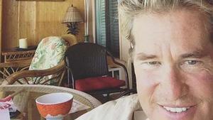 El actor Val Kilmer, en una imagen reciente de su Instagram.