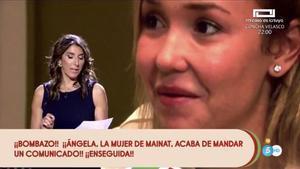 Paz Padilla en 'Sálvame'. /MEDIASET