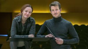 Vavara y Duncan Ward, en el Auditori.