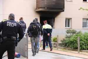Dos personas han muerto y cuatro han resultado heridas en el incendio en una vivienda en Cassà de la Selva (Gironès)
