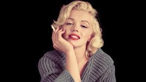 Fotografía de la exposición de la Filmoteca sobre Marilyn Monroe