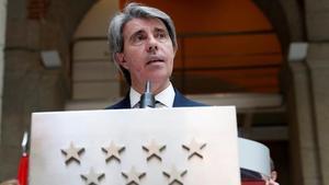 El consejero de Transportes de la Comunidad de Madrid, Angel Garrido.