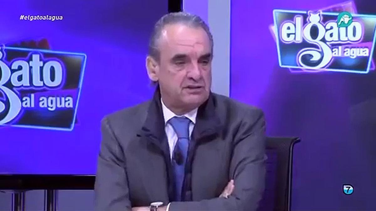 La opinión de Mario Conde sobre los Papeles de Panamá en el programa 'El gato al agua'.