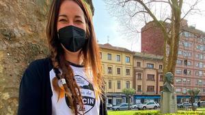 Tania Plaza, primera guarda en un refugio de España.