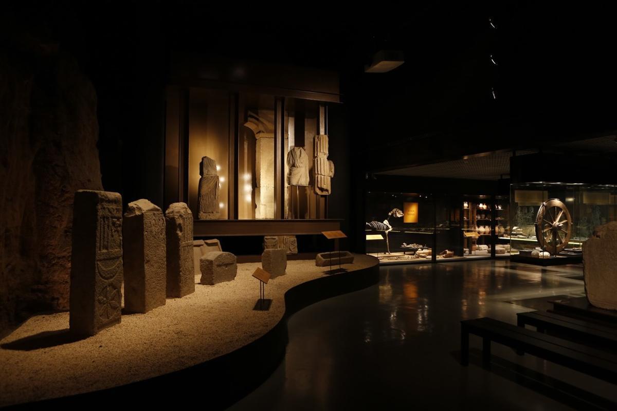 Yacimiento romano del Museu de Badalona.